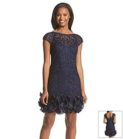 Jessica Simpson Lace Ruffle Skirt Dress