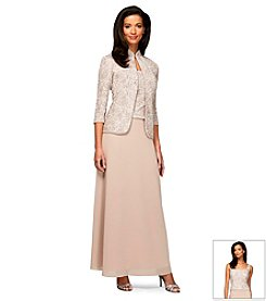 Alex Evenings® Lace Bodice Jacket Dress