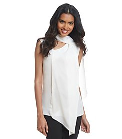 Anne Klein® Sleeveless Scarf Top
