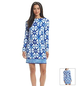 MICHAEL Michael Kors® Glazed Tile Border Dress