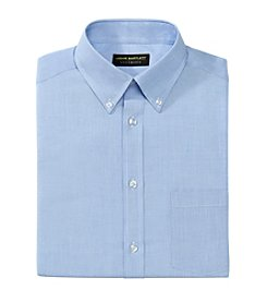 John Bartlett Statements Men's Chambray Solid Button Down Dress Shirt