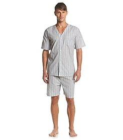 Geoffrey Beene® Men's Short Sleeve Pajama Set