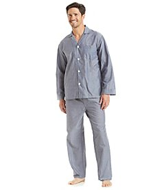 Geoffrey Beene® Men's Long Sleeve Pajama Set