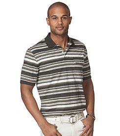 Chaps® Men's Short Sleeve Skidaway Striped Polo