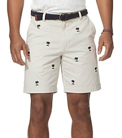 Chaps® Men's Embelished Palm Short