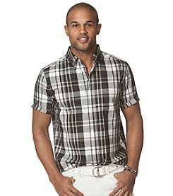 Chaps® Men's Short Sleeve Memphis Poplin