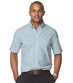 Chaps® Men's Short Sleeve Ghingam Oxford