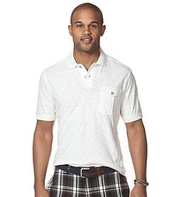 Chaps® Men's Short Sleeve Slub Jersey Polo