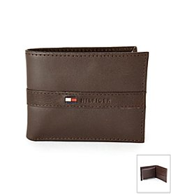 Tommy Hilfiger® Men's Passcass Bifold Two-Tone Wallet