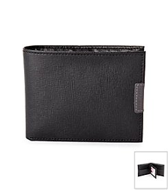 Perry Ellis Portfolio® Men's W Virginia Passcase ID Wallet