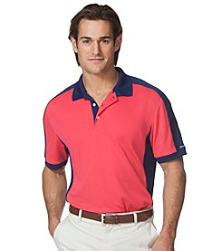 Chaps® Men's Short Sleeve Paneled Polo