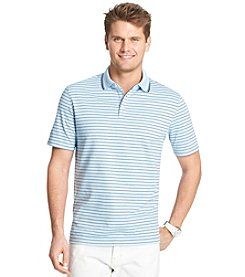 Izod® Men's Short Sleeve Feeder Stripe Polo