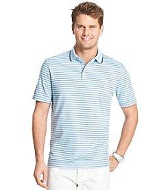 Izod® Men's Short Sleeve Feeder Stripe Polo