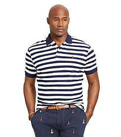 Polo Ralph Lauren® Men's Big & Tall Short Sleeve Custom Fit Striped Polo