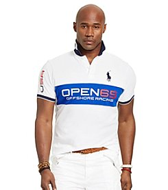 Polo Ralph Lauren® Men's Big & Tall Short Sleeve Pieced Sailing Polo