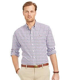 Polo Ralph Lauren® Men's Big & Tall Long Sleeve Check Button Down