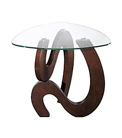 Stein World Nassau Shaped End Table