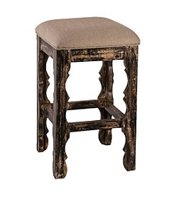 Carrara Backless Counter Stool - Black Finish