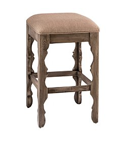 Carrara Backless Counter Stool - Grey Finish