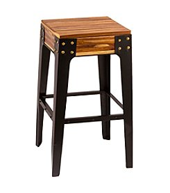 Hickman Backless Storage Non-Swivel Bar Stool