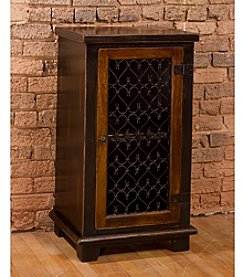 Gibbins Cabinet with Metal Insert Door