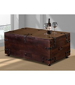 Medford Cocktail Table with Bar Storage