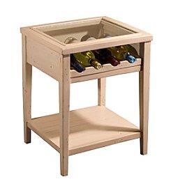 Tuscan Retreat Wine Display Table