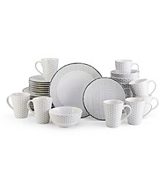 Mikasa® Gray Avery Medley 32-pc. Dinnerware Set