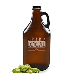 Cathy's Concepts Drink Local Amber Beer Growler