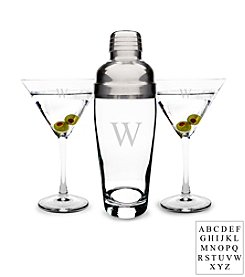 Cathy's Concepts Personalized Martini Set