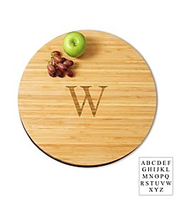 Cathy's Concepts Personalized Small Bamboo Lazy Susan