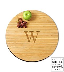 Cathy's Concepts Personalized Large Bamboo Lazy Susan