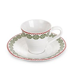 Sophie Conran for Portmeirion® Snowflake Espresso Cup and Saucer