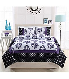 Pem America, Inc.® 17 Essentials Franchesca Dot 3-pc. Comforter Set