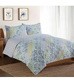 Pem America, Inc.® Style 212 Patchwork 3-pc. Quilt Set