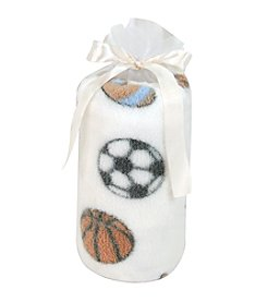 Stephan Baby® Sports Plush Blanket