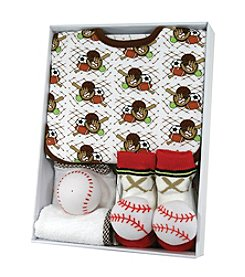Stephan Baby® Baseball Bib Set