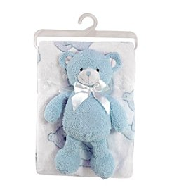 Stephan Baby® Bear with Blanket Set