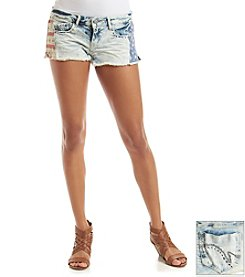Hippie Laundry Flag Trim Shorts