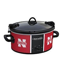 University Of Nebraska NCAA Crock-Pot® Cook & Carry 6-Qt. Slow Cooker