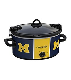 NCAA® University Of Michigan Cook & Carry 6-Qt. Slow Cooker