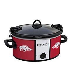University Of Arkansas NCAA Crock-Pot® Cook & Carry 6-Qt. Slow Cooker