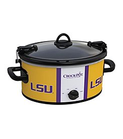 Louisiana State NCAA Crock-Pot® Cook & Carry 6-Qt. Slow Cooker