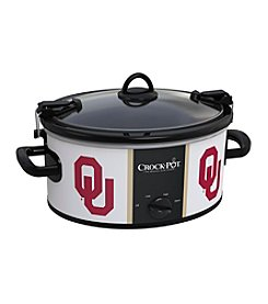 University Of Oklahoma NCAA Crock-Pot® Cook & Carry 6-Qt. Slow Cooker