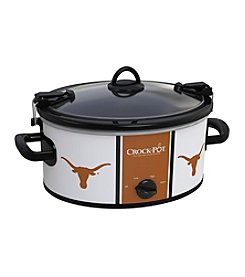 University Of Texas NCAA Crock-Pot® Cook & Carry 6-Qt. Slow Cooker