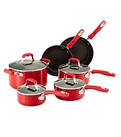 Guy Fieri 10-pc. Red Aluminum Nonstick Cookware Set