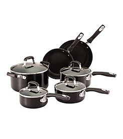 Guy Fieri 10-pc. Black Aluminum Nonstick Cookware Set