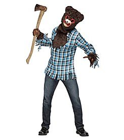 Psycho Teddy Bear Costume - Adult