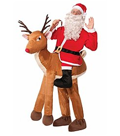 Santa on Reindeer Costume
