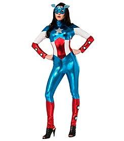 Marvel® Captain America® American Dream Bodysuit Adult Costume